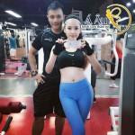 Angelia Phương Trinh có dáng người mẫu, vòng eo thon gọn gợi cảm