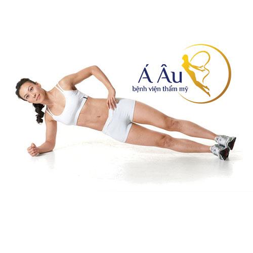 Động tác Side plank ở nữ giới