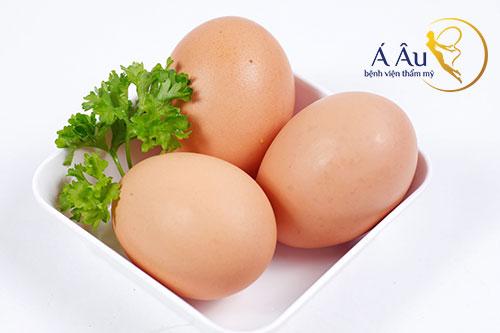 Trứng gà giúp xây dựng cơ bụng